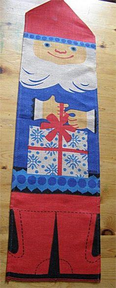 Tradera ᐈ Köp & sälj begagnat & second hand Antique Christmas, Scandinavian Christmas, Second Hand, Christmas Decorations, Santa, Textiles, Kids Rugs, Antiques, Pattern