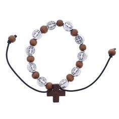 Wood St. Benedict Bracelet