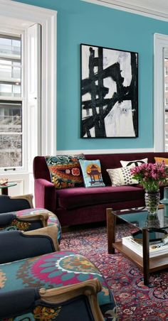 Discover teal living room rug only in home stre Next Living Room, Small Living Room Layout, Teal Living Rooms, Living Room Themes, Casual Living Rooms, Living Room Styles, Living Room Photos, Living Room Color Schemes, Living Room On A Budget