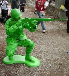 Army Man halloween costume!