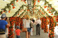 Beautiful Handmade Paper Flowers Cover The Streets Of Alentejo, Portugal (10 pics)