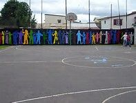 playground mural - Bing Images
