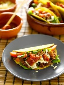 Vegan taco meat. My mom and I use veggie crumbles and oh my gosh are they good!!