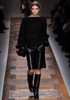 ANDREA JANKE Finest Accessories: Black is Back | VALENTINO Fall/Winter 2012/13