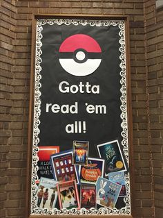 Pokemon Library bulletin board                              …