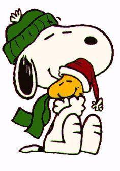 Christmas - Snoopy & Woodstock