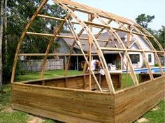 gothic arch shed - Google Search