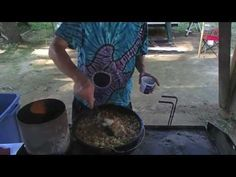 ▶ Dutch Oven Gumbo, Cornbread & Cake - YouTube