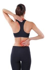 Image result for pictures of person with back, shoulder pain