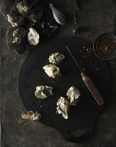 Oyster Carnage  Photography by Sarah Anne Ward Food Styling by Lauren LaPenna Prop Styling by Paola Ramirez
