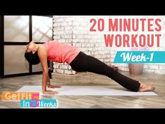 Week One - Get Fit In 5 Weeks With Rashmi | Work Out For Strenght And Stability | Mind Body Soul - YouTube