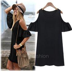 Wish.com shoulderless dress.
