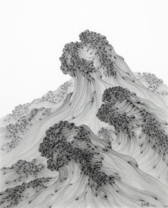 Wu Gaozhong(吴高钟 Chinese, b.1962)悬河Q-18 2012 work on paper via