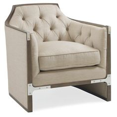 Check out this item at One Kings Lane! Avalyn Accent Chair, Neutral