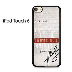 Invisible Hunter Hayes Lyric Quotes With Signature Ipod Touch 6 Case