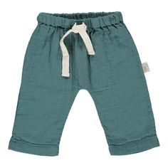 Double Gaze Organic Cotton Trousers Poudre Organic Baby Children- A large selection of Fashion on Smallable, the Family Concept Store - More than 600