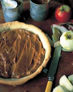 Jamie Oliver's toffee apple tart