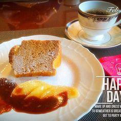 女子会のデザートに♡ - 46件のもぐもぐ - デザートはキャラメルシフォンケーキにリンゴのキャラメリゼとキャラメルクリーム♪ by 72rose