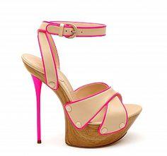 Casadei Fluo #shoes #heels #pink
