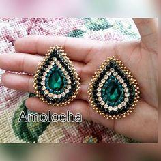 Thread Jewellery, Soutache Jewelry, Clay Jewelry, Beaded Jewelry, Embroidery Jewelry, Beaded Embroidery, Brooches Handmade, Handmade Jewelry, Zipper Jewelry