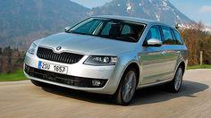 Car review: Skoda Octavia Estate driven - road test - BBC Top Gear
