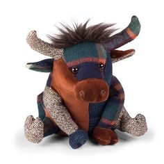 Dora Designs The Patchwork Range Patchwork Highland Cow Doorstop