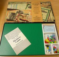 Vintage 1970s Board Game Waddingtons BUSINESS GAME / MINE A MILLION