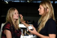 "#‎NYFW‬ | BACKSTAGE AT ALEXANDER WANG SPRING/SUMMER 2016 ""For this collection, Alex wanted to go back to the feeling and style of when he started, which was quite street. The beauty is raw, the girls are meant to kind of look as they are, with a little bit of grooming but nothing 'done'.."" Lead Artist Diane Kendal for NARS Cosmetics."