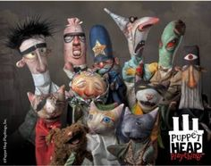 Puppet Heap characters