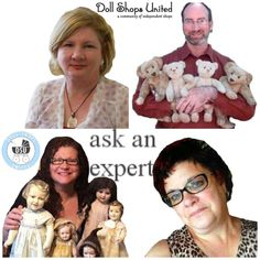 Do you have questions about a #Doll or #Teddy-ASK AN EXPERT @Dollshopsunited  http://www.dollshopsunited.com/ask-us/ #dollshopsunited
