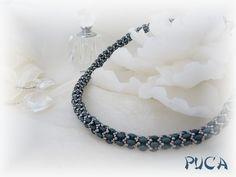 "PUCA: Schéma ...Spirale ""Lana""  |  superduo twin beads"