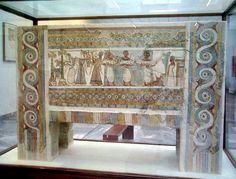 Sarcófago decorado de Hagia Triada. Época Minoica