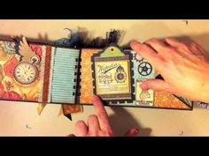 Steampunk Debutante Envelope Mini Album