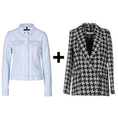 Denim Jacket and Oversize Blazer