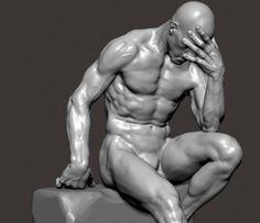 hombre abrumado pensando