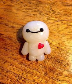 Baymax Polymer Clay Charm or Figurine by TheUndulatingOctopus