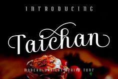 Taichan Script from FontBundles.net
