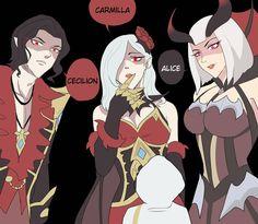 Bang Bang, Moba Legends, Comics Love, Mobile Legend Wallpaper, Carmilla, Anime Love Couple, Anime Demon, Cartoon Wallpaper, Anime Art Girl