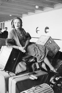 April 23, 1931: Marlene Dietrich returns from Germany on the S.S. Bremen