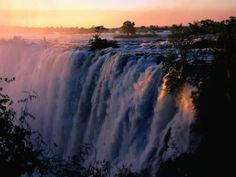 Been there! Victoria Falls, Zambia/Zimbabwe, Africa. The cloud that thunders.