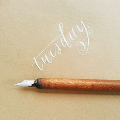 Oh yes! It's Tuesday but I feel like my week just started today… #calligrafikas #nibs #inks