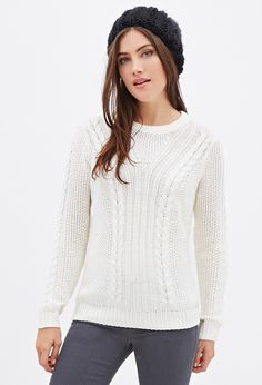 Forever 21 is the authority on fashion & the go-to retailer for the latest trends, styles & the hottest deals. Shop dresses, tops, tees, leggings & more! Shop Forever, Forever 21, Cable Knit Sweaters, Latest Trends, Turtle Neck, Pullover, Knitting, Best Deals, Tees