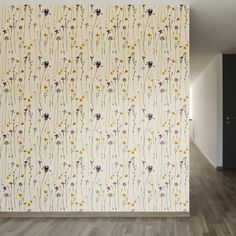 The lovely little flowers featured on this adhesive wallpaper are the perfect way to add charm and femininity to any room. Purchase this pattern by the roll.