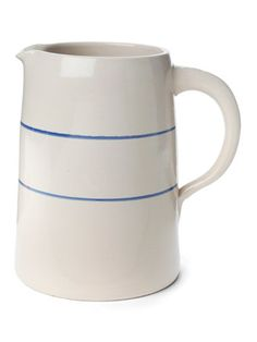 $19.99 | Clay Striped Pitcher