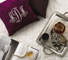 Love this company. You can personalize and monogram your own bags, pillows, and much more!