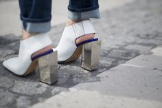 Street Style Shoes and Bags at Paris Fashion Week Fall 2015 | POPSUGAR Fashion