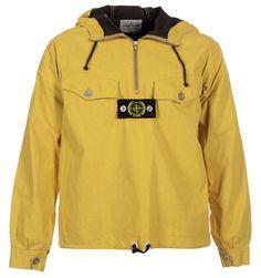 Stone Island Jackets. Stone Island 30th Anniversary Yellow Tela Stella Jacket