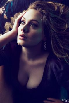Adele - Vogue strong voice that every one is begging  to have