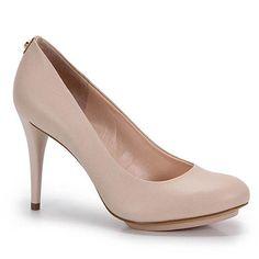 Sapato Scarpin Feminino Jorge Bischoff - Marfim