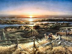 Best Friends by Terry Redlin - I want this picture.